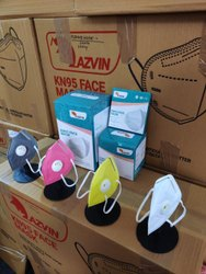 5 Ply KN95 Respirator Mask With Nose Pin