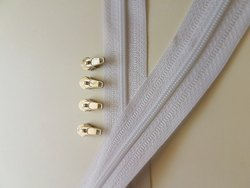 Plain roll PPE Kit Coil Zippers