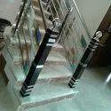 Stainless steel designer glass railling