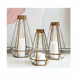 Designer Decorative Brass Lantern (Set of 50)
