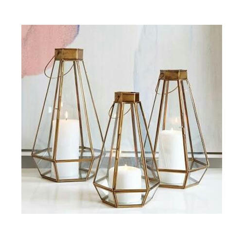 Designer Decorative Brass Lantern