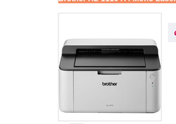 Brother HL 1110 A4 Mono Laser Printer
