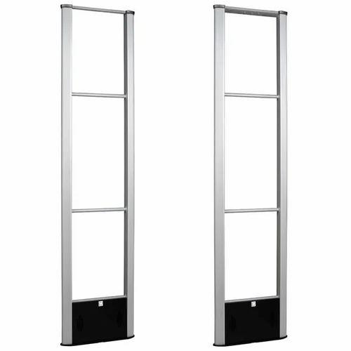 Alloy Aluminium White Sensor Gate For Showroom