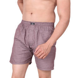 100% Cotton And Regular Fit Woven Boxer