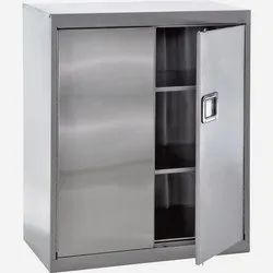 Stainless Steel Apron Cabinet with Shoe Rack