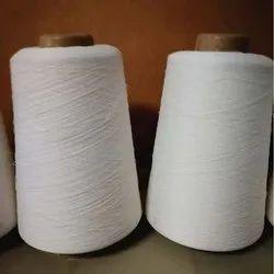 Raw White Cotton Yarn