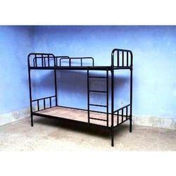 Steel Double Bunk Beds, Warranty: 1 Year