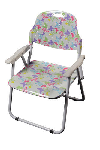 Amaze Folding Baby Chair-Multi Colour Butterfly, Dimension: 37 x 31 x 59 cm