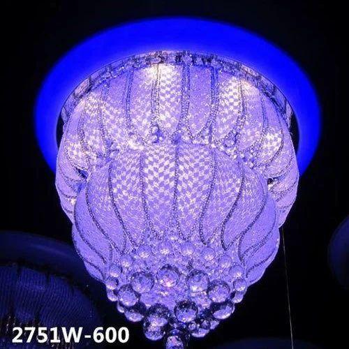 Designer crystal led chandelier light at rs 4000 piece hanging designer crystal led chandelier light mozeypictures Image collections
