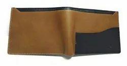 Black & Tan Foam Leather MENS WALLET