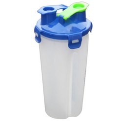 Aqua Twin Shaker Bottle