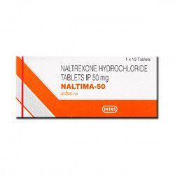 Naltrexone Hydrochloride 50mg Tablets