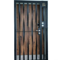 Mild Steel Entrance Door