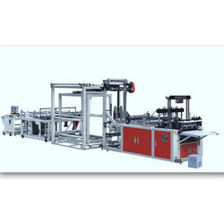 Auto Non-Woven Fabric Straight-Up Bag Making Machine