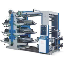 Paper Cup Blank 6 Colour Flexo Printing Machine