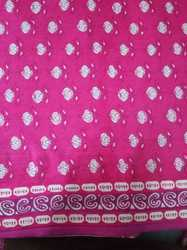Printed Ladies Suit Fabric
