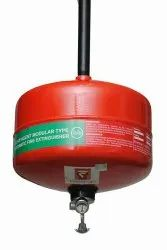 Red Carbon Steel 5Kg Modular Clean Agent Fire Extinguisher, For Industrial