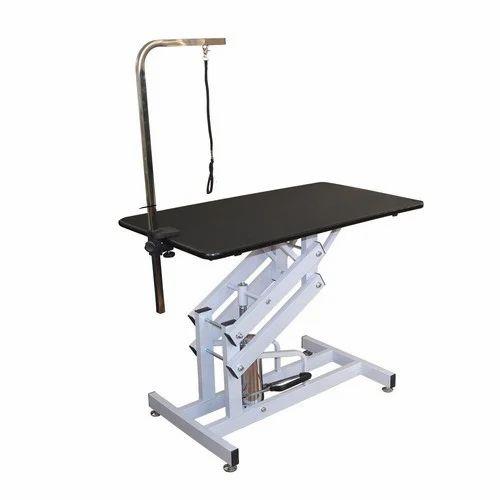 Hydraulic Adjustable Dog Grooming Table प लत पश ओ क ग र म ग उपकरण प ट ग र म ग ट ल स Scoobee Pet Products New Delhi Id 16521588755