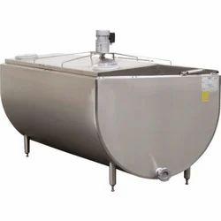 Open Type Semi Cylindrical Milk Storage Tank