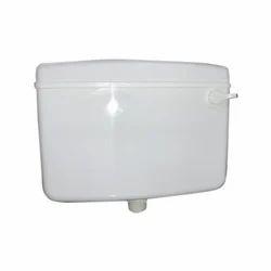 White Big Bull PVC Toilet Flushing Cistern