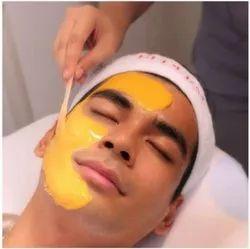 Men Gold Facial Services