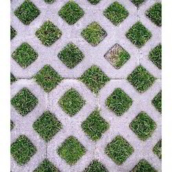 Grass Concrete Paver Tile