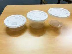 400 ml Plastic Disposable Container Bowl