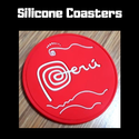 Promotional Silicone Tea Coaster