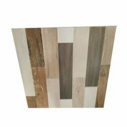 Millenium Ceramic Wooden Brown Vitrified Tiles, Thickness: 10 - 12 mm