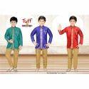 Cotton And Pure Silk Festive Wear Partywear Sherwani Set