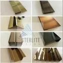 304 Sterlite Decor Stainless Steel Custom Trims & Profiles