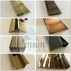 304 Sterlite Decor Stainless Steel Custom Trims & Profiles