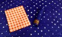 Chex Cotton Hand Work Dress Material