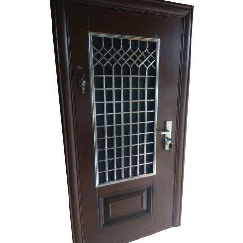 Wood Exterior Ms Security Doors Rs 225 Square Feet Kohinoor Pvc