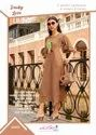 Rachna Georgette With Cotton Inner Hand Print Work Vintage Catalog Kurti For Women