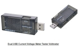 Dual USB Current Voltage Tester