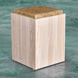 Bold Bella Wooden Puffy Dressing Stool With Seat, For Home