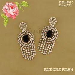 American Diamond CZ Drop Earrings