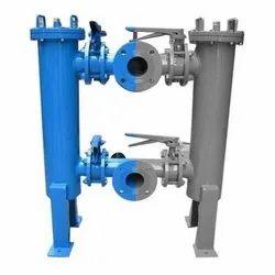 SRI VENKAT Bypass Filter Systems Duplex Basket Filters
