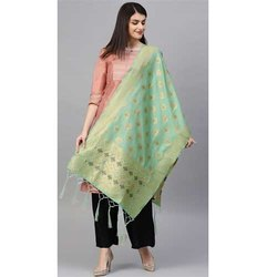 Zarika Hit Color Vol 14 Banarasi Silk Dupatta