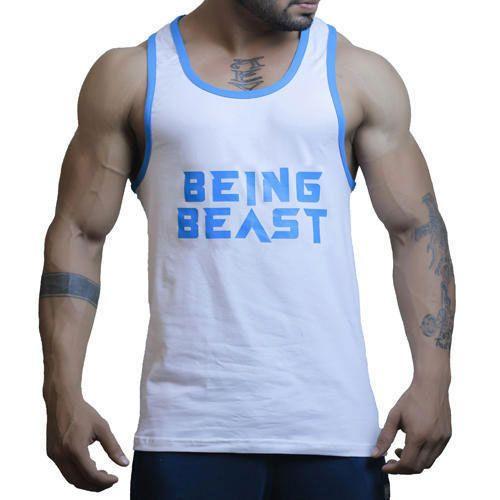 fbc203f216e Mens Cotton Gym Vest