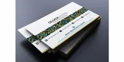 Rectangle Various color Premium Visiting cards, For Promotion, Size: 3.5x2
