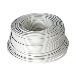 White Electric Cable, 220-440 Volt