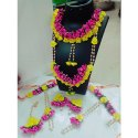 Artificial Flower Jewelry Set