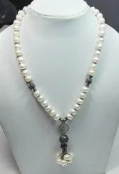 925 Sterling Silver Pearl Fashion Necklaces