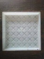 Chequered Square PVC Tile Mould