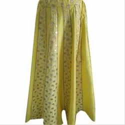 Ladies Party Wear Embroidered Skirt