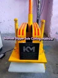 Mild Steel Manual Slipper Making Machine