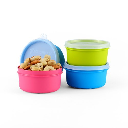 Actionware Plastic Storage Container, Size/Dimension: 350ml