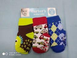 Multicolor Wool Baby Socks